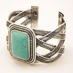 Azure Heavens Retro Turquoise Bracelet - $17 with FREE Shipping!