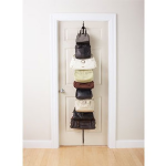 Over the Door Hanging Purse Rack- $6 with Free Shipping