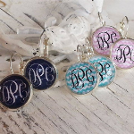 Monogrammed Earrings- $10 with Free Shipping