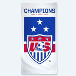 Women&#39s World Cup Beach Towel- $23 with Free Shipping